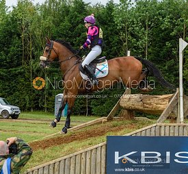 Ginny Howe and UNDALGO DE WINDSOR - Aston Le Walls Horse Trials 2019.