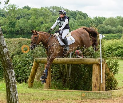 Julia Norman and METALBRIDGE HARRY - Aston Le Walls Horse Trials 2019.