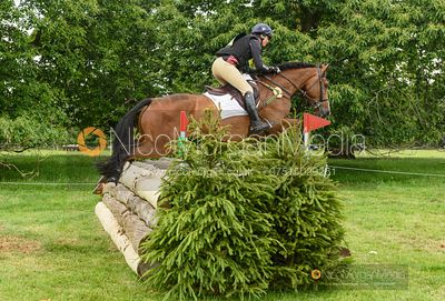 Piggy French and SPORTSFIELD TOP NOTCH - Upton House Horse Trials 2019.