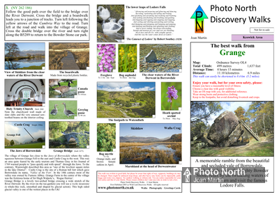 Bassenthwaite walk  - Two page PDF file