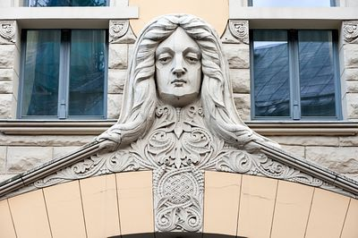 Riga Art Nouveau architecture, Latvia