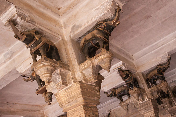 Bundi City Palace Ceiling