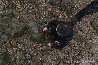 Come Hell or High Water, a monthly event that takes place on the Thames foreshore at low tide Come Hell or High Water, a mont...