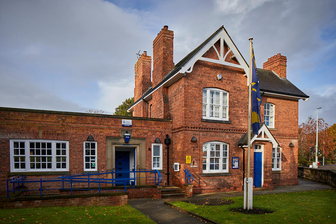 Knutsford police station