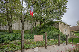 Memorial to the Resistance fighters executed by the Nazi's at the Citadel of Besançon.