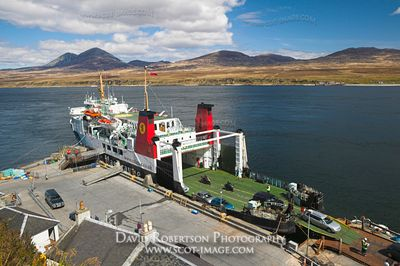 Image - Caledonian MacBrayne ferry, Port Askaig, Islay, Paps of Jura in view