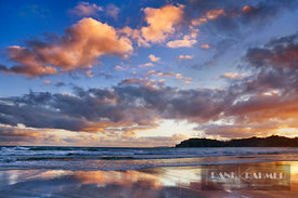 Cloud impression at sea - Oceania, New Zealand, North Island, Northland, Whangarei, Matapouri, Woolleys Bay (Polynesia) - dig...
