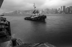Ghost Tug  Kowloon 2015  Photographer Neil Emmerson  Edition of 25