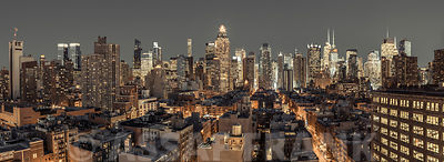 Lower Manhattan cityscape, New York