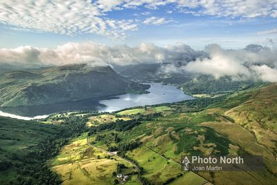 DOCKRAY 01B - Aerial view of Ullswater