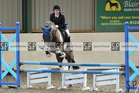 Stapleford Abbotts. United Kingdom. 05 April 2021. Unaffiliated showjumping. MANDATORY Credit Ellen Jameson/Sport in Pictures...