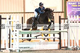 Unaffiliated showjumping. Stapleford Abbotts. United Kingdom ~ MANDATORY Credit Garry Bowden/SIP photo agency - NO UNAUTHORIS...