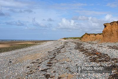 WALNEY ISLAND 55A - Coastal erosion at Bent Haw