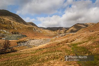 KENTMERE 30A - Spoil heaps in the Kentmere Valley