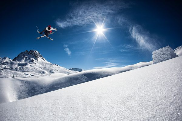 Backcountry flying with Flo Bastien