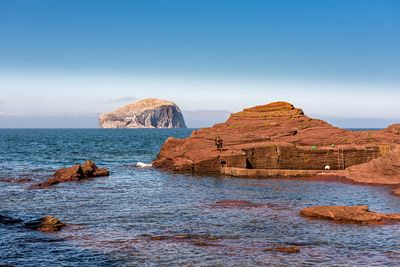 Bass Rock from Seacliff Harbour