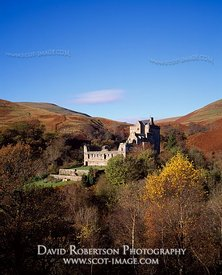 Image - Castle Campbell in Autumn, Dollar, Clackmannanshire, Scotland
