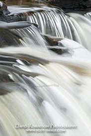 Image - Cascade, Eas Fors waterfall, Isle of Mull, Scotland