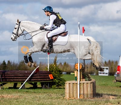 Archie Smith-Maxwell and KELSHAMORE DANDY. Oasby (1) Horse Trials 2019