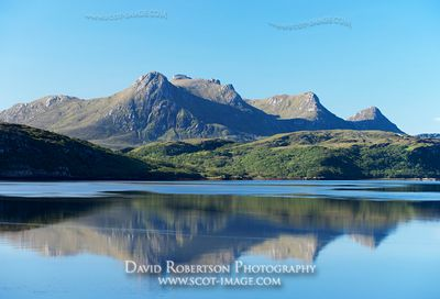Image - Ben Loyal and the Kyle of Tongue, Sutherland, Reflection