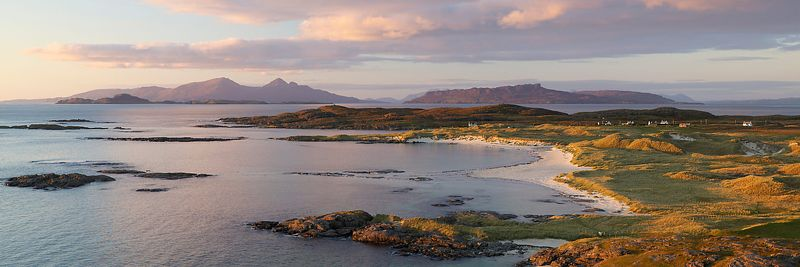 Image - Sanna Bay Panoramic, Ardnamurchan Peninsula, Scotland.
