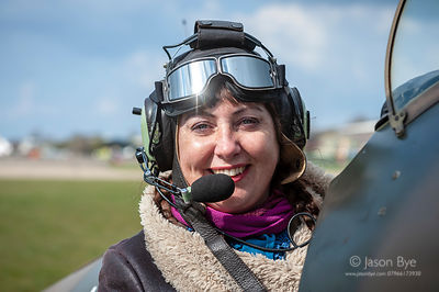 Amanda Harrion, Solo Pilot, Duxford, Cambs, 13/04/19, Jason Bye