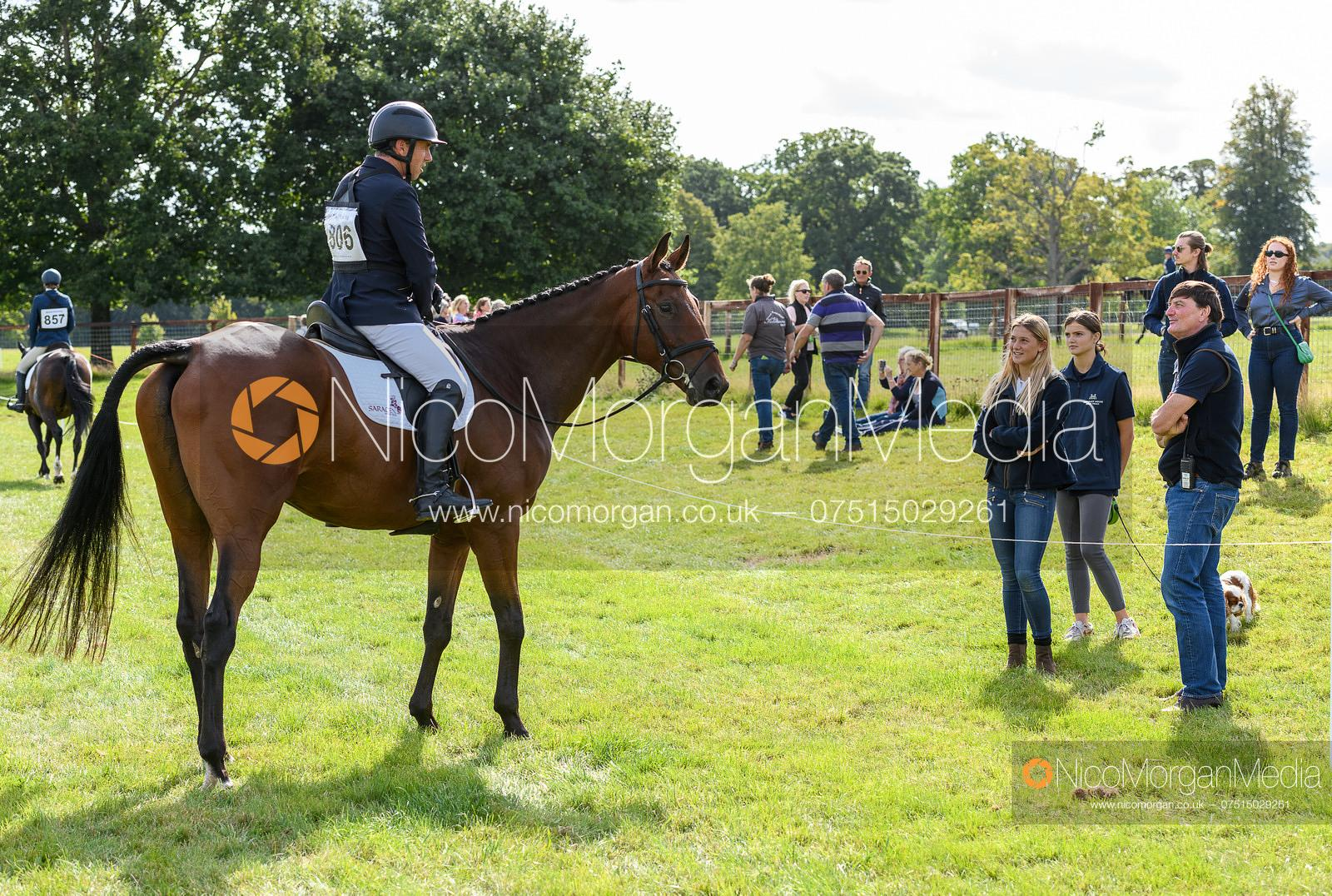 Sam Griffiths and CU CHULAIN - Cornbury House Horse Trials 2020