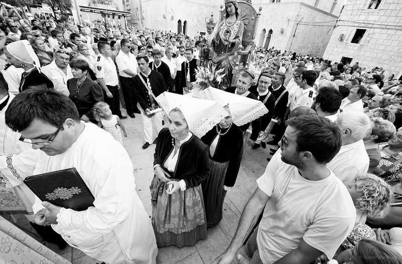 Assumption Day, Pag, Croatia