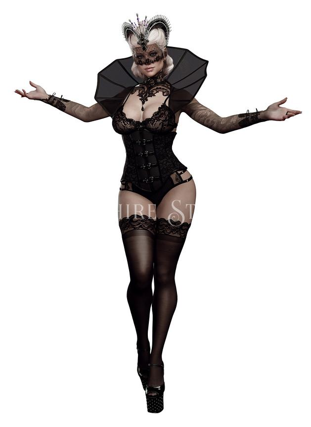 Goth Pinup