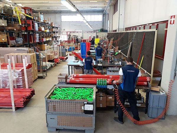 Liski Sport Equipment, Brembate (ITA), 12/10/2017, Liski, Factory in Brembate