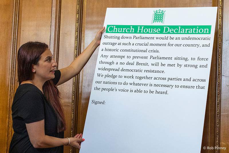 MPs sign Church House Declaration