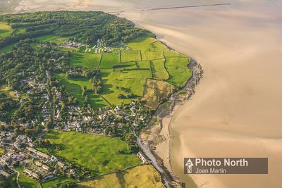 SILVERDALE 40B - Aerial view of Silverdale Shore