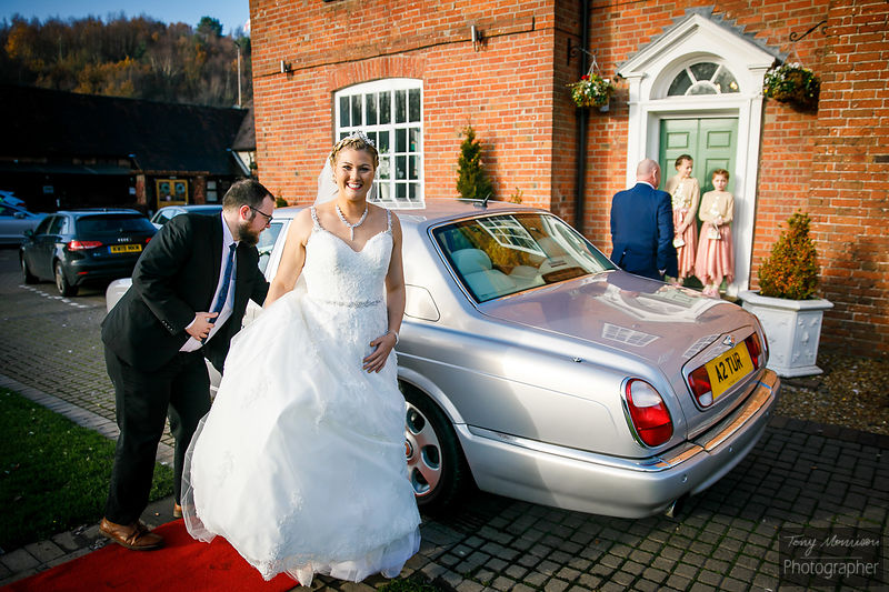 Wedding at The Barns Hotel, Cannock, Staffordshire, UK