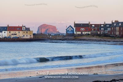 Image - The Bass Rock from the West Beach of North Berwick, East Lothian, Scotland.