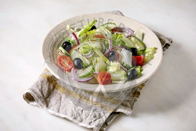Classic vegetable salad