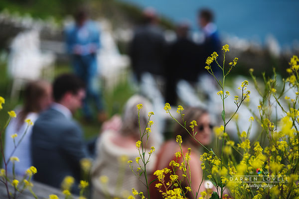 Charlotte & Sam's glorious wedding at Durlston Castle