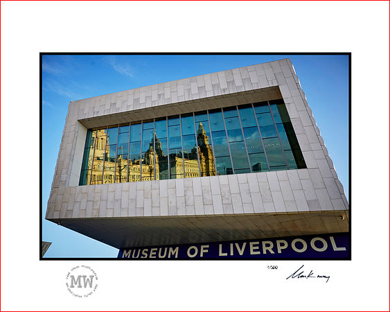 Linited edition wall print Museum reflects
