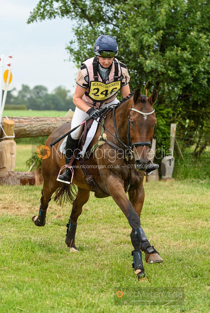 Georgie Spence and COOLEY LEGALAND - Upton House Horse Trials 2019.