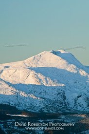 Image - Ben Lomond, Trossachs, Winter, snow