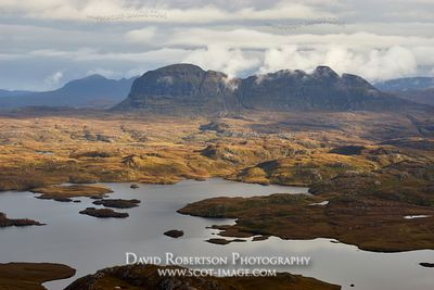 Image - Suilven, viewed from Stac Pollaidh, Wester Ross, Highland, Scotland