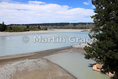 Rakaia River, Rakaia Gorge, Canterbury, South Island, New Zealand