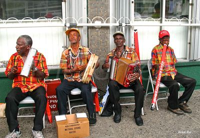 Dominica local music band