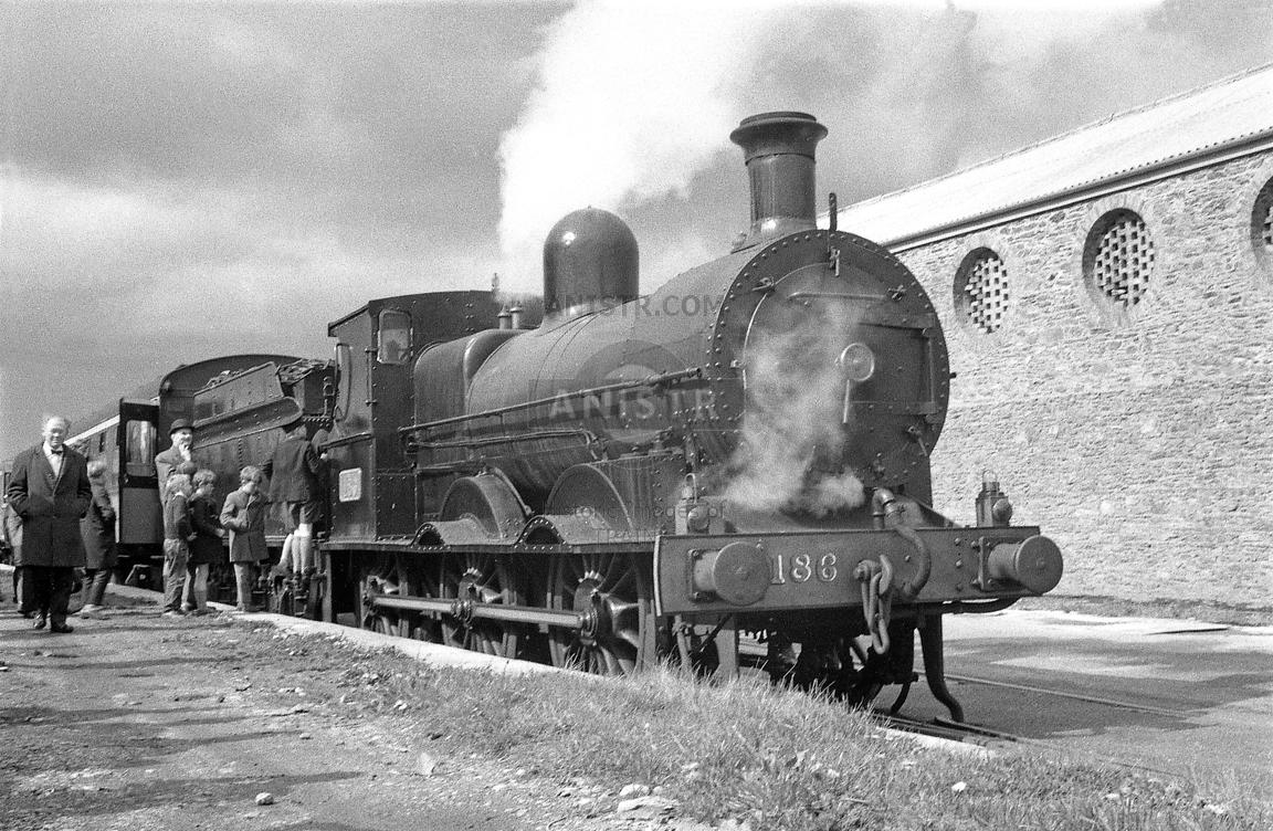 Steam loco J15 186 Wicklow