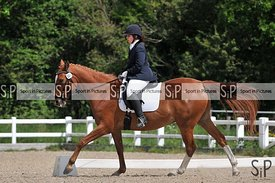 Unaffiliated dressage. Brook Farm Training Centre. Essex. 25/05/2019. ~ MANDATORY Credit Ellen Szalai/Sportinpictures - NO UN...