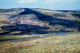 #5616,  Colliery spoil tip, Wales.