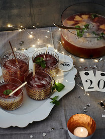 Dishes for Newyear's eve by Hoersch