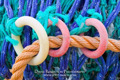 Image - Fishing nets detail, rings