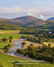 Prints & Stock Image - View along the River Avon, near Tomintoul, Moray, Scotland.