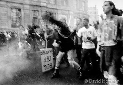 Poll Tax riots, London March 1990