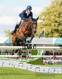 Ludwig Svennerstal and STINGER - Show jumping and prizes - Land Rover Burghley Horse Trials 2019